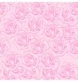 Rose sketch seamless vector image