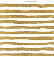 seamless pattern gold lines vector image