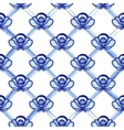 Seamless pattern in style Gzhel A lattice from vector image vector image
