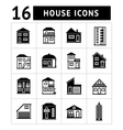 Set of house icons vector image