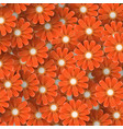 abstract background of flowers vector image vector image