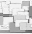 abstract background overlapping square design new vector image vector image