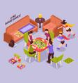 board games kids isometric vector image