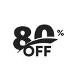 discount symbol business promotion sticker hot vector image vector image