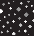 gray rounded diamond pattern seamless vector image vector image