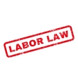 Labor Law Rubber Stamp vector image vector image