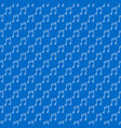 musical note blue simple seamless pattern vector image