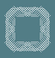 simple geometric frame vector image