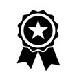 star quality badge vector image