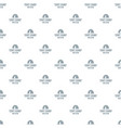 tent camp pattern seamless vector image
