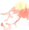 Watercolor splash background vector image vector image