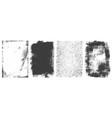 abstract grunge retro frames set vector image