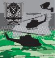 armed forces vector image vector image