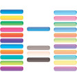 button for design interface site and application vector image vector image