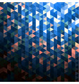 colorful retro-styled mosaic background vector image