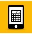 concept saving money calculator vector image