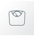 diet icon line symbol premium quality isolated vector image
