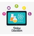 eLearning or online education vector image vector image