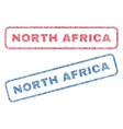 north africa textile stamps vector image vector image
