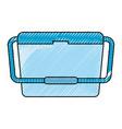portable fridge vector image