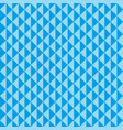 seamless pattern blue triangles vector image vector image