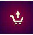 shopping cart Flat vector image vector image