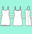 Simple dress vector image vector image