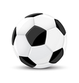 Soccer game ball isolated vector image