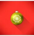Yellow Glass Ball vector image vector image