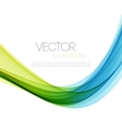 Abstract lines background Template brochure vector image vector image