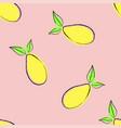 abstract mango pattern vector image
