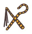 Egypt symbols Ankh Hieroglyph vector image vector image