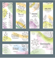 Floral and Herbal Ornament vector image vector image