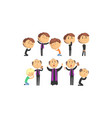 man priests characters collection catholic vector image
