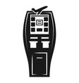 payment street vending machine icon simple style vector image vector image