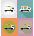 transport flat icons 21 vector image vector image