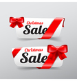 39 Collection of Christmas web tag banner for vector image vector image