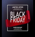 advertising banner on day vector image vector image