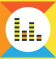 audio mixer colorful outline symbol premium vector image vector image