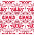 scandinavian folk seamless pattern vector image vector image