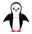 symmetrically drawn penguin vector image