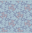 taraxacum seamless pattern background vector image vector image