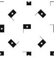 vietnam flag pattern seamless black vector image vector image