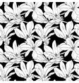 Decorative floral seamless pattern with flowers on vector image vector image