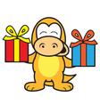 Dinosaur Birthday vector image