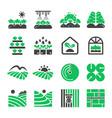 plantation icon vector image