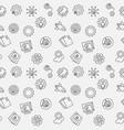 startup minimal seamless pattern vector image vector image