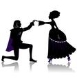 Dancing couple vector image