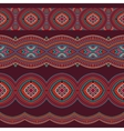 Abstract tribal stripes background set vector image vector image