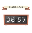 Clock watch alarm icon vector image vector image